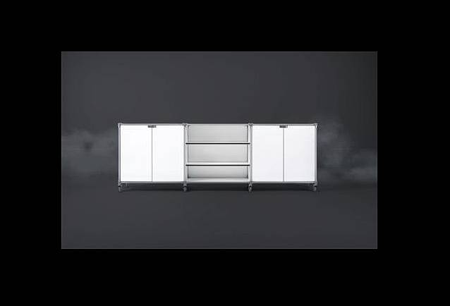 system 180 office sideboard kunz einrichtungen darmstadt. Black Bedroom Furniture Sets. Home Design Ideas